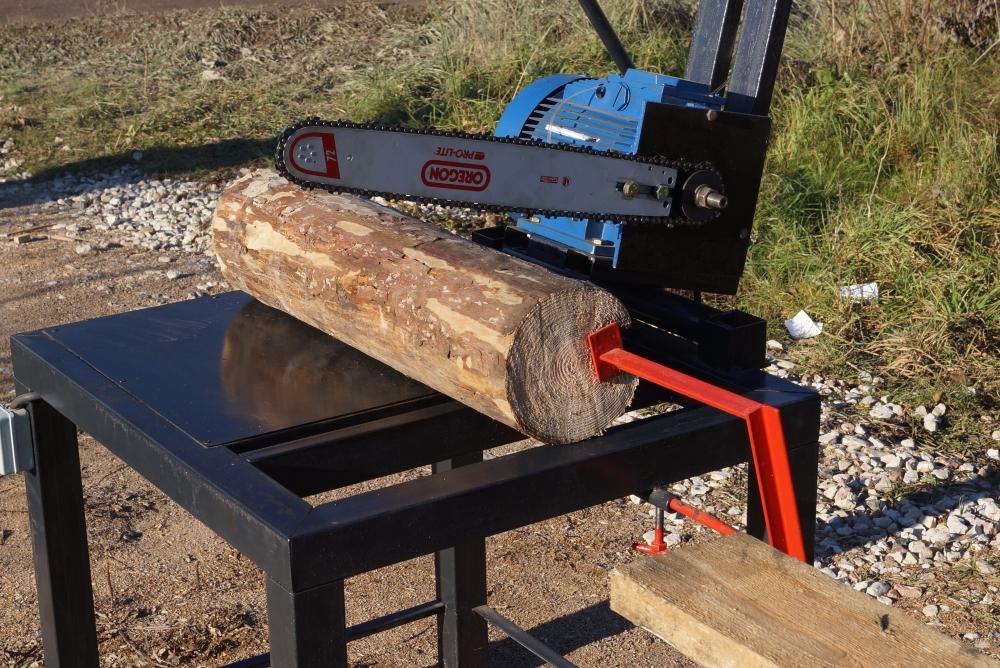 Распиловка дров своими руками 907